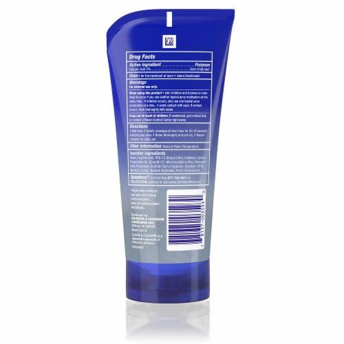 Clean & Clear Blackhead Eraser Facial Scrub Perspective: back