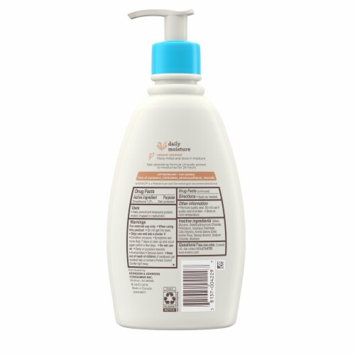 Aveeno Baby Fragrance Free Daily Moisture Lotion Perspective: back