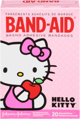 Band-Aid Hello Kitty Adhesive Bandages 20 Count Perspective: back