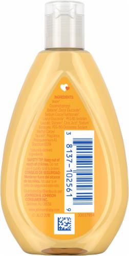 Johnson's Travel Size Baby Shampoo Perspective: back