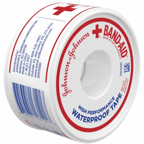 Band-Aid Waterproof Tape Perspective: back