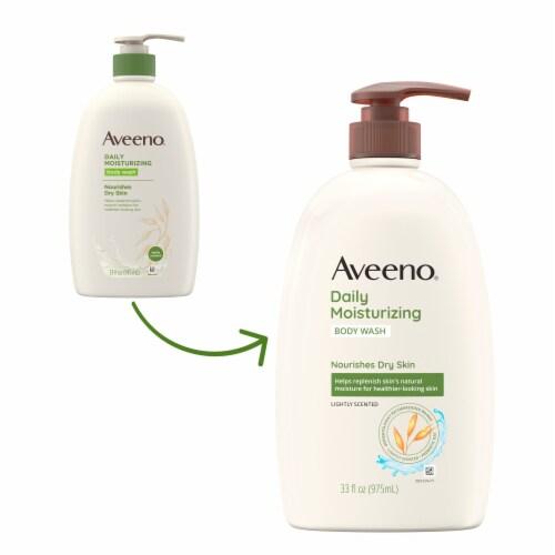 Aveeno Daily Moisturizing Body Wash Perspective: back