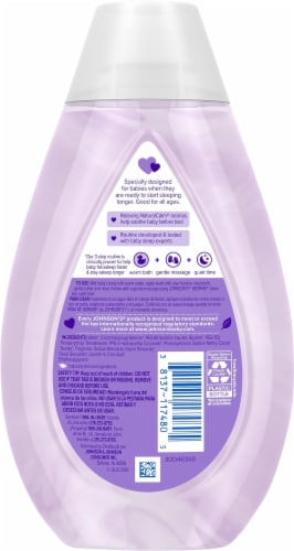 Johnson's® Bedtime® Moisture Wash Perspective: back