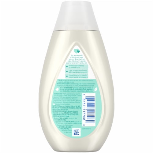 Johnson's Baby CottonTouch Newborn Wash & Shampoo Perspective: back