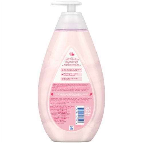 Johnson's® Baby Moisture Baby Wash Perspective: back