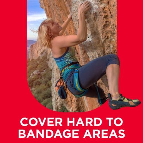 Band-Aid Skin Flex Assorted Sizes Adhesive Bandages Perspective: back