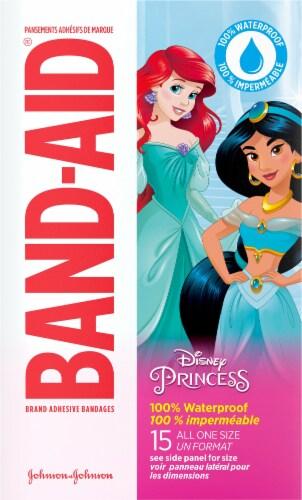 Band-Aid® Princess Waterproof Bandages Perspective: back