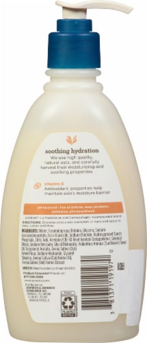 Aveeno Baby Soothing Hydration Creamy Wash Perspective: back