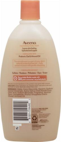 Aveeno Nourish Oat Almond Body Wash Perspective: back
