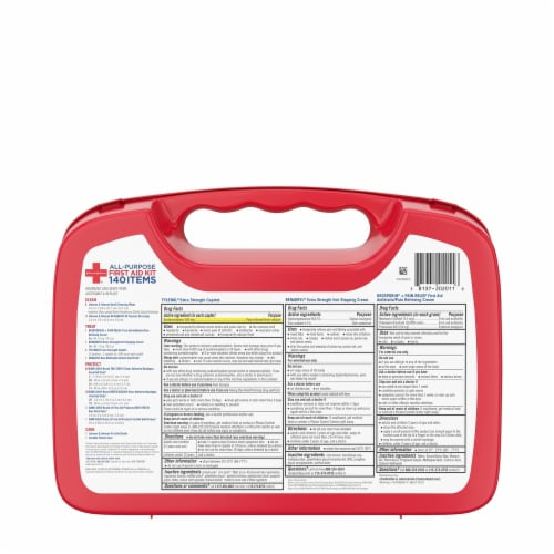 Johnson & Johnson® All-Purpose First Aid Kit Perspective: back