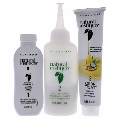 Clairol Natural Instincts 2 Sahara Light Blonde Hair Color Perspective: back