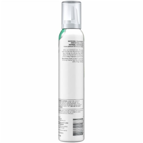 Herbal Essences Set Me Up Extra Hold Mousse Perspective: back