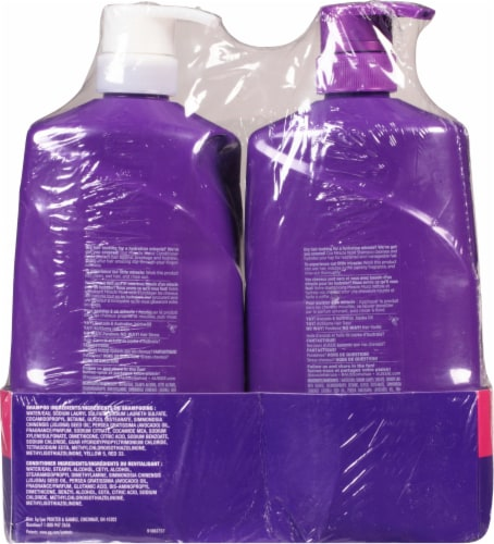 Aussie Miracle Moist with Avocado & Jojoba Oil Paraben Free Shampoo & Conditioner Dual Pack Perspective: back