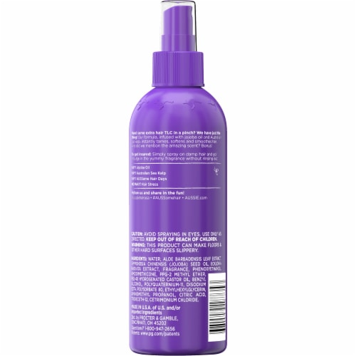 Aussie Hair Insurance Leave-In Conditioner w/ Jojoba & Sea Kelp Perspective: back