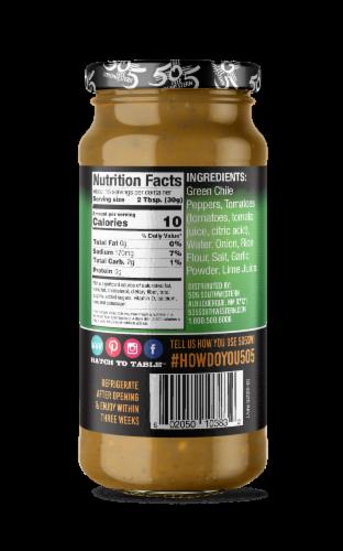 505 Southwestern Medium Green Chile Sauce Perspective: back
