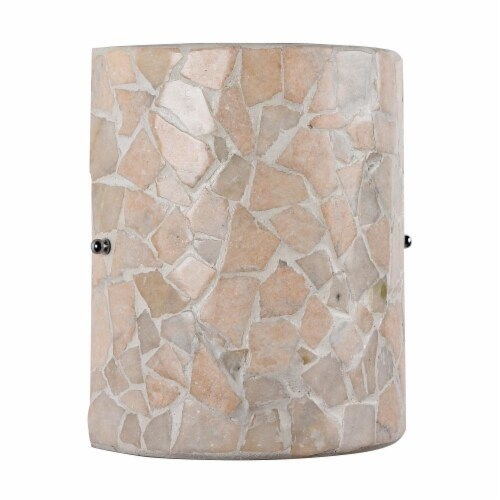 CHLOE Lighting KAI Mosaic 1 Light  Indoor Wall Sconce 8  Wide Perspective: back