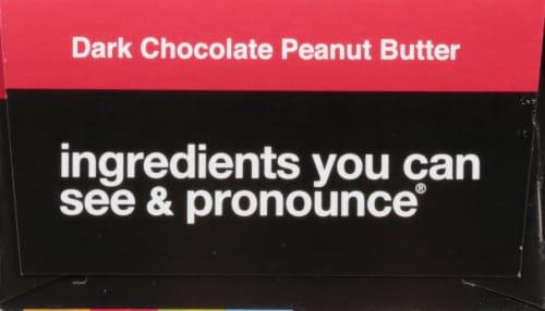 KIND Energy Dark Chocolate Peanut Butter Bars Perspective: back