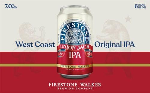 Firestone Walker Union Jack IPA Beer Perspective: back