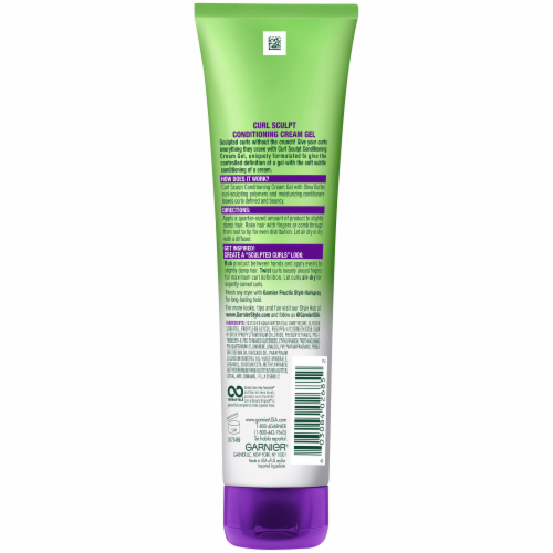 Garnier Fructis Style Curl Sculpting Conditioning Cream Gel Perspective: back