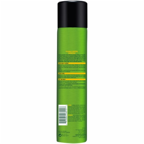 Garnier Fructis Full Control Strong Hold Aerosol Hair Spray Perspective: back