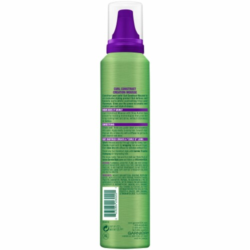 Garnier Fructis Style Curl Construct Mousse Perspective: back
