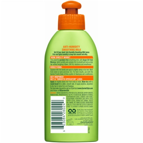 Garnier Fructis Style Anti-Humidity Smoothing Milk Perspective: back