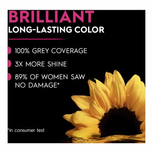 Garnier® Olia® Brillant Color 5.0 Medium Brown Hair Color Perspective: back