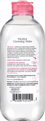 Garnier SkinActive All-In-1 Micellar Cleansing Water Perspective: back