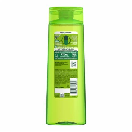 Garnier Fructis Sleek & Shine Paraben-Free Fortifying Shampoo Perspective: back