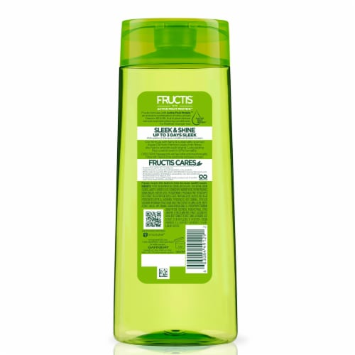 Garnier Fructis Sleek & Shine Fortifying Shampoo Perspective: back