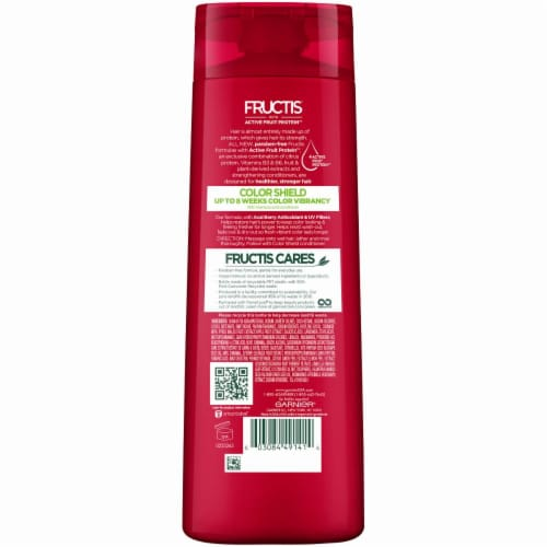 Garnier Fructis Color Shield Fortifying Shampoo Perspective: back