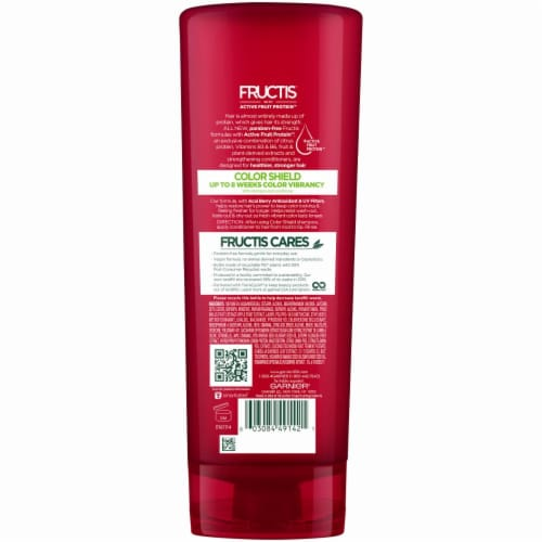 Garnier Fructis Color Shield Fortifying Conditioner Perspective: back
