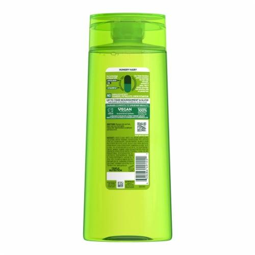 Garnier Fructis Triple Nutrition Shampoo Perspective: back
