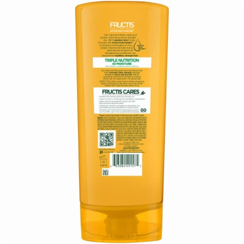 Garnier Fructis Triple Nutrition Fortifying Conditioner Perspective: back