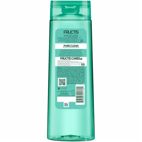 Garnier Fructis Pure Clean Aloe Extract Fortifying Shampoo Perspective: back