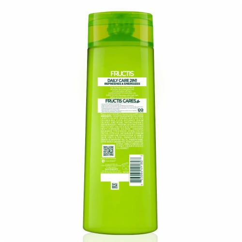 Garnier Fructis Daily Care 2-in-1 Grapefruit Fortifying Shampoo & Conditioner Perspective: back