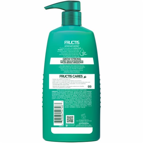 Garnier Fructis Grow Strong with Ceramide & Apple Extract Fortifying Conditioner Perspective: back