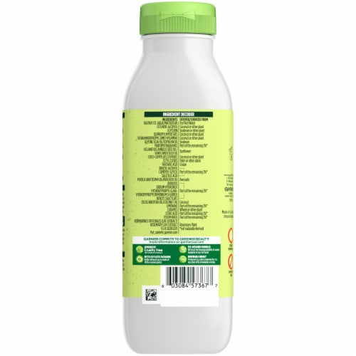Garnier Fructis Avocado Extract Smoothing Treat Conditioner Perspective: back