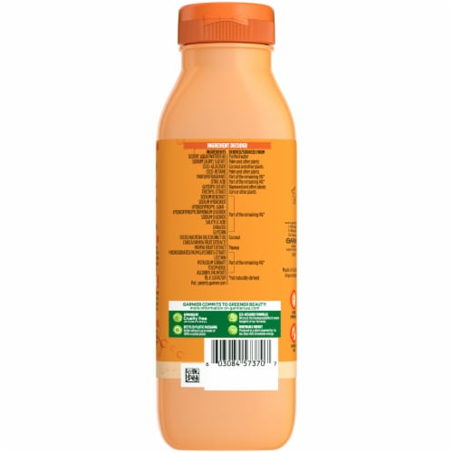 Garnier® Fructis® Papaya Extract Damage Repairing Treat Shampoo Perspective: back