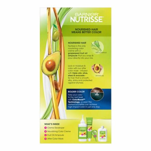 Garnier Nutrisse Ultra Color Teal Forest Hair Color Kit Perspective: back