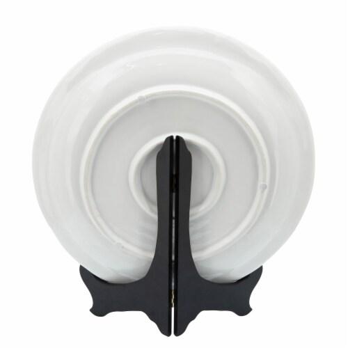 Ceramic 14  Decorative Plate W/ Turtles, White Perspective: back