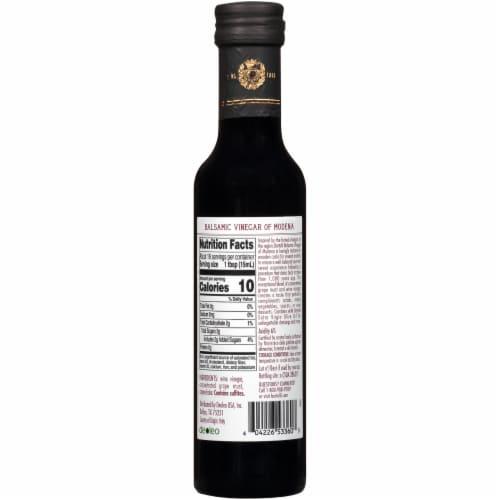Bertolli Balsamic Vinegar Perspective: back