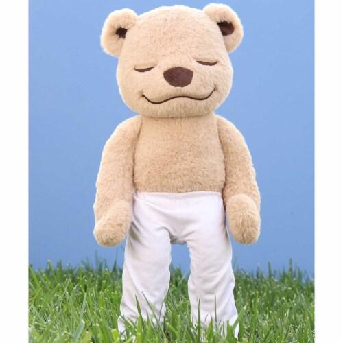 Meddy Teddy Original Yoga Teddy Bear Perspective: back