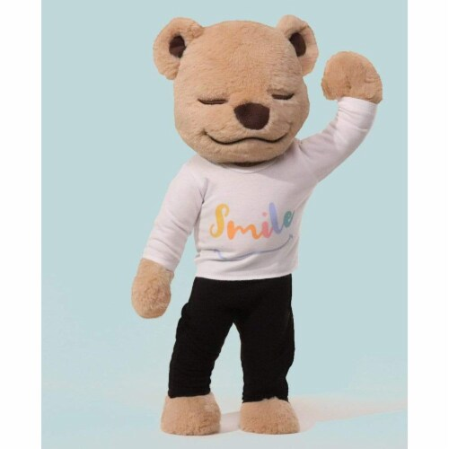 Smile Shirt - Yoga T-Shirt for Meddy Teddy Perspective: back