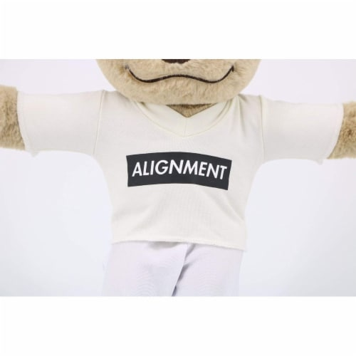 Alignment Shirt - Meditation T Shirt for Meddy Teddy Perspective: back