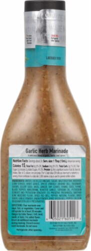Mrs Dash Salt Free Garlic Herb Marinade Perspective: back