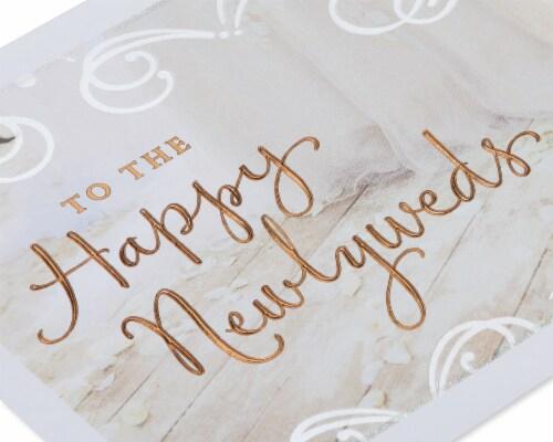 American Greetings #58 Wedding Card (Happy Newlyweds) Perspective: back