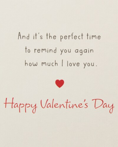 American Greetings #63 Valentine's Day Card for Husband (Great Memories) Perspective: back