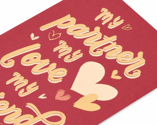 American Greetings #61 Romantic Valentine's Day Card (My Lover) Perspective: back