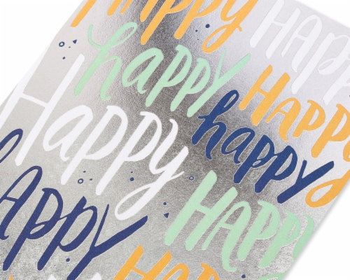 American Greetings #31 Birthday Card (Happy) Perspective: back